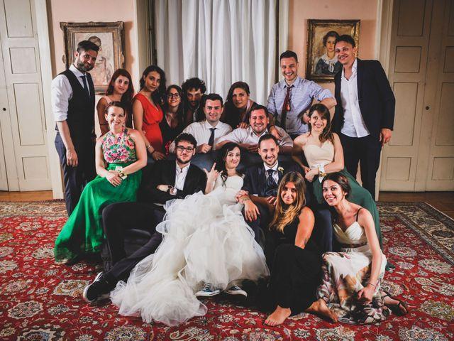 Il matrimonio di Mattia e Sara a Erba, Como 103