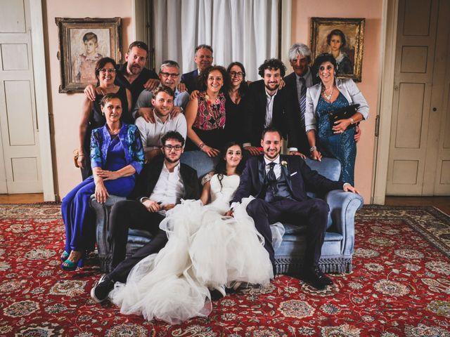 Il matrimonio di Mattia e Sara a Erba, Como 104