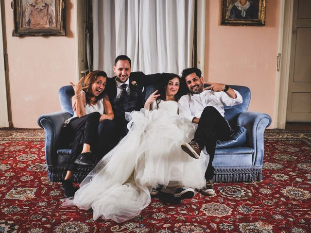 Il matrimonio di Mattia e Sara a Erba, Como 105