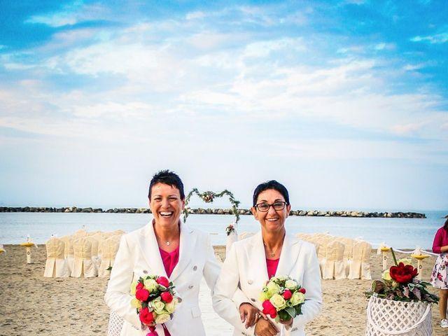 Il matrimonio di Alessandra e Barbara a Bellaria-Igea Marina, Rimini 3