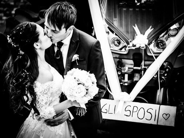 Le nozze di Ylenia e Michele