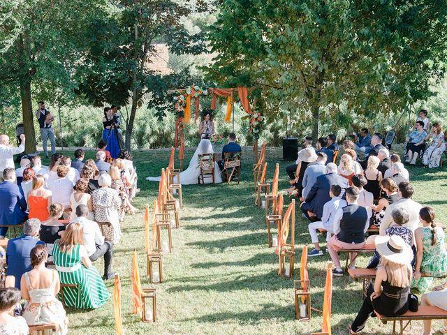 Il matrimonio di Mattia e Chiara a Montefano, Macerata 9