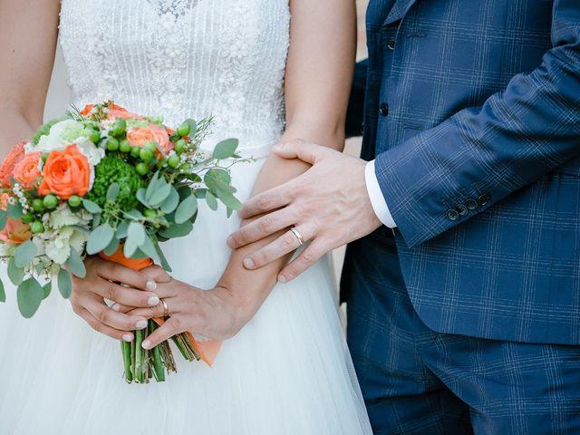 Il matrimonio di Mattia e Chiara a Montefano, Macerata 17