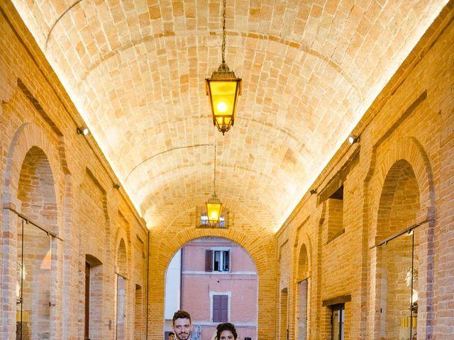 Il matrimonio di Mattia e Chiara a Montefano, Macerata 20