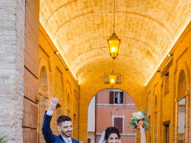 Il matrimonio di Mattia e Chiara a Montefano, Macerata 21