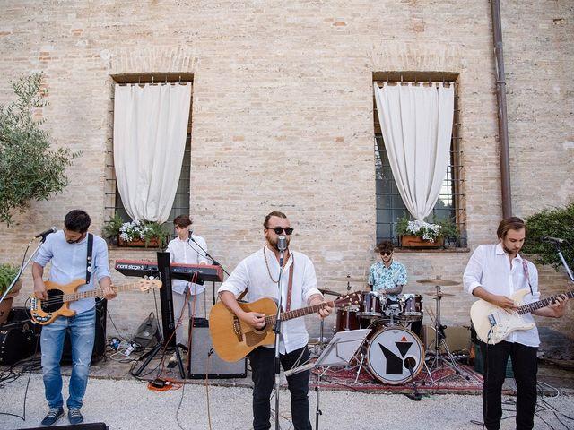 Il matrimonio di Mattia e Chiara a Montefano, Macerata 26