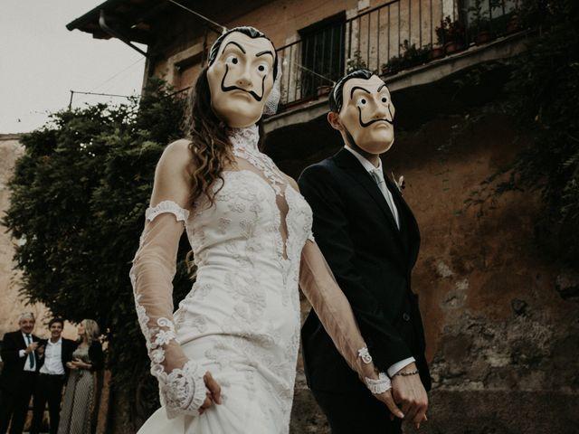 Il matrimonio di Jacopo e Serena a Monte Compatri, Roma 46