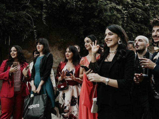 Il matrimonio di Jacopo e Serena a Monte Compatri, Roma 47