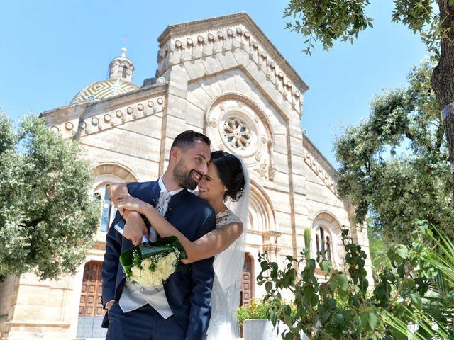 Il matrimonio di Giordano e Rossella a Villa Castelli, Brindisi 8