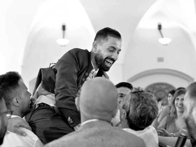 Il matrimonio di Giordano e Rossella a Villa Castelli, Brindisi 11