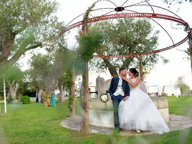 Il matrimonio di Giordano e Rossella a Villa Castelli, Brindisi 14