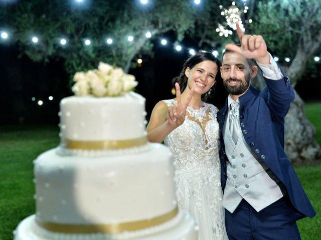 Il matrimonio di Giordano e Rossella a Villa Castelli, Brindisi 18