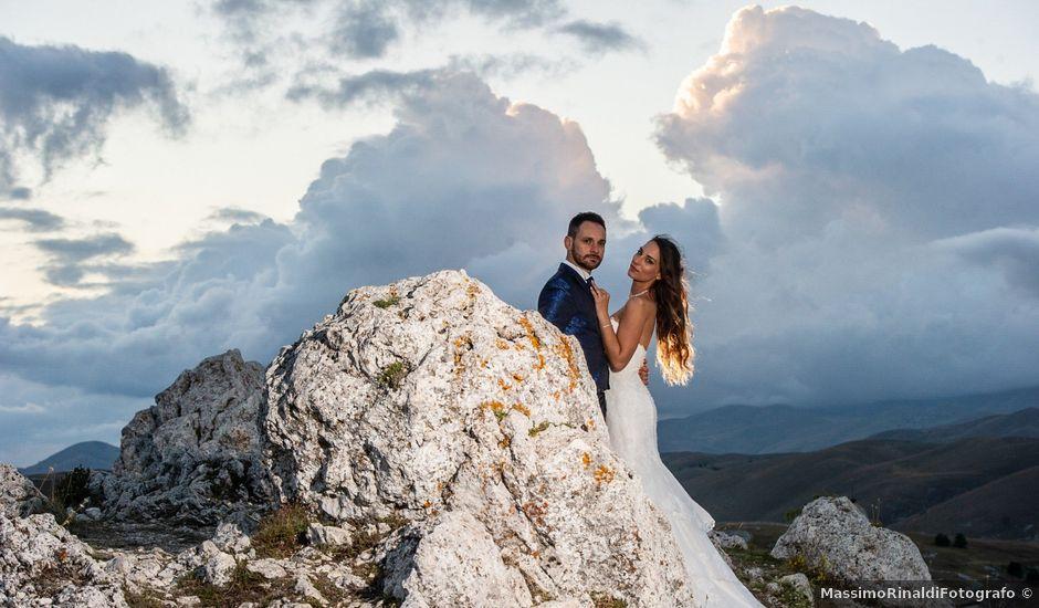 Il matrimonio di Valerio e Letizia a Rieti, Rieti