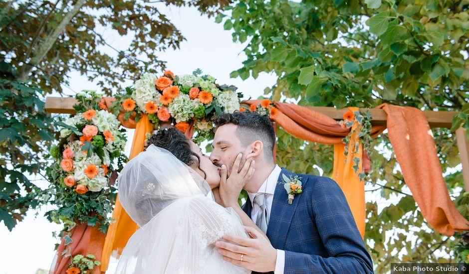 Il matrimonio di Mattia e Chiara a Montefano, Macerata