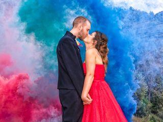Le nozze di Cristina e Anders