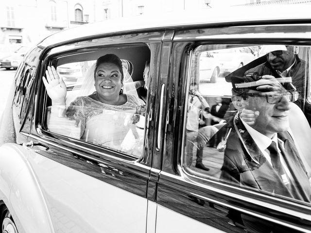 Il matrimonio di Daniele e Mariella a Carignano, Torino 8