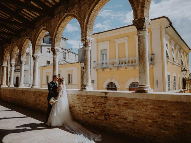 Il matrimonio di Luigi e Maria a Città Sant'Angelo, Pescara 82