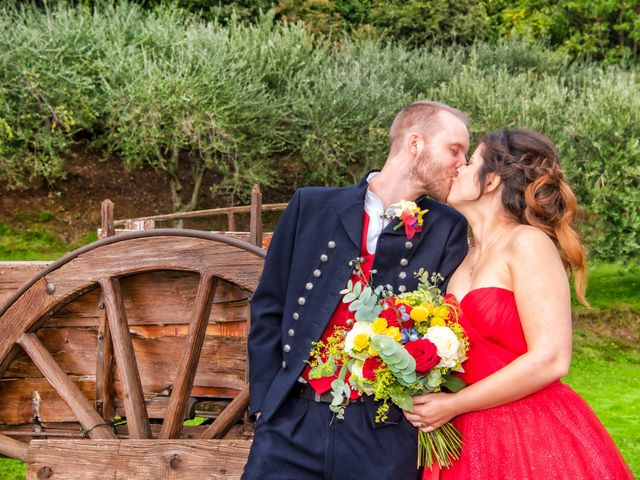 Il matrimonio di Anders e Cristina a Montevecchia, Lecco 5