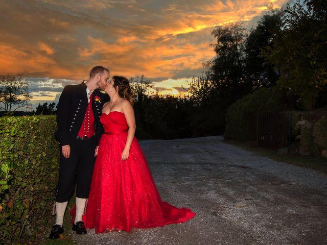 Il matrimonio di Anders e Cristina a Montevecchia, Lecco 8