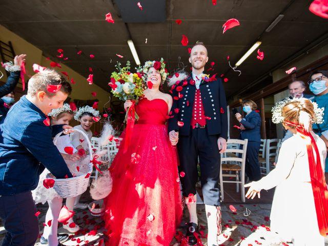 Il matrimonio di Anders e Cristina a Montevecchia, Lecco 33