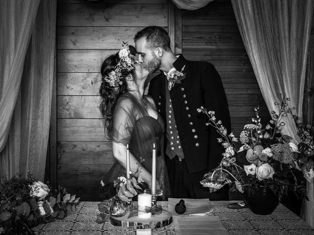 Il matrimonio di Anders e Cristina a Montevecchia, Lecco 34