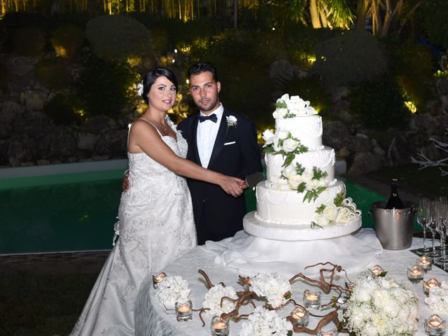 le nozze di Rosanna e Vincenzo