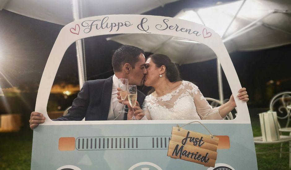 Il matrimonio di Filippo  e Serena a Roma, Roma