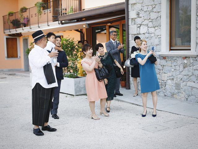 Il matrimonio di Ottaviano e Naoko a Udine, Udine 22