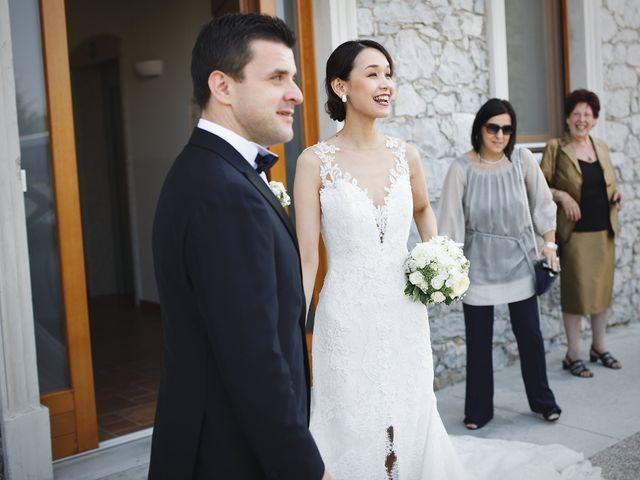 Il matrimonio di Ottaviano e Naoko a Udine, Udine 23
