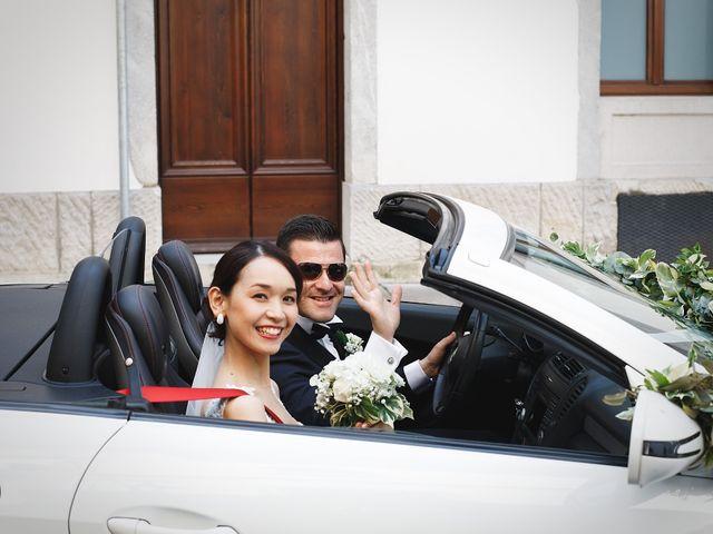 Il matrimonio di Ottaviano e Naoko a Udine, Udine 25