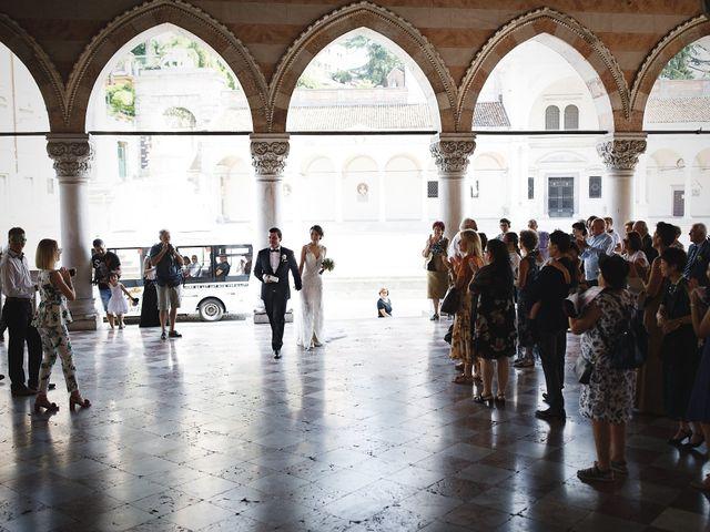 Il matrimonio di Ottaviano e Naoko a Udine, Udine 27