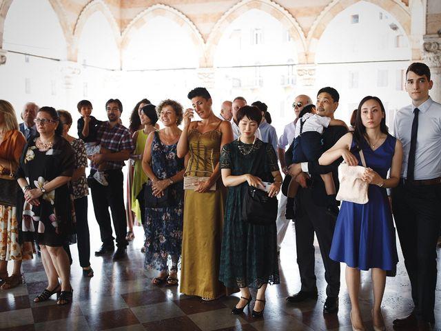 Il matrimonio di Ottaviano e Naoko a Udine, Udine 29