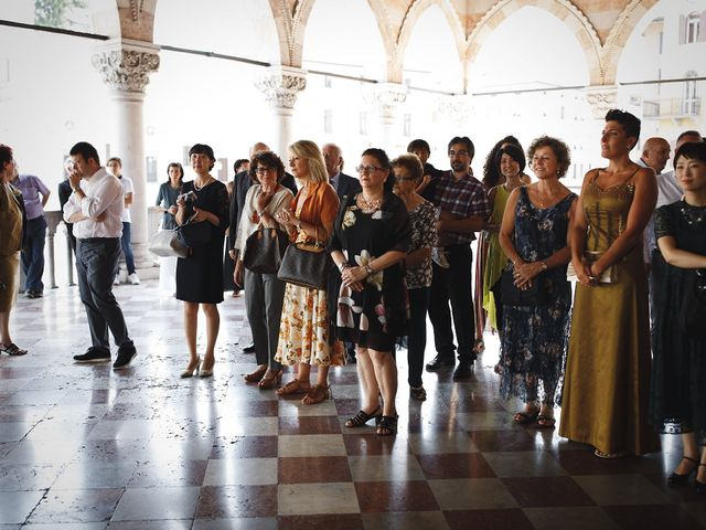 Il matrimonio di Ottaviano e Naoko a Udine, Udine 30
