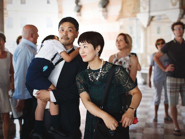 Il matrimonio di Ottaviano e Naoko a Udine, Udine 33