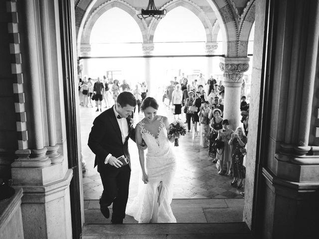 Il matrimonio di Ottaviano e Naoko a Udine, Udine 35