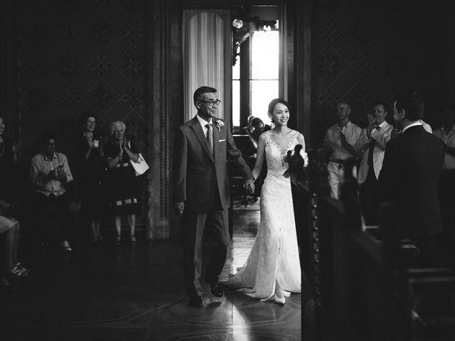 Il matrimonio di Ottaviano e Naoko a Udine, Udine 36