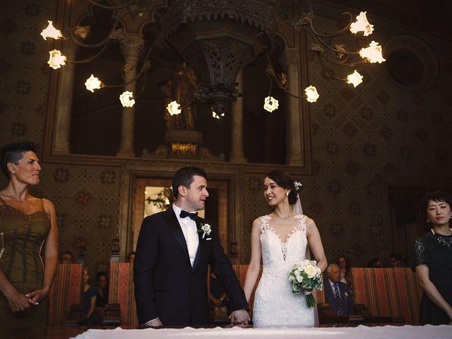 Il matrimonio di Ottaviano e Naoko a Udine, Udine 37