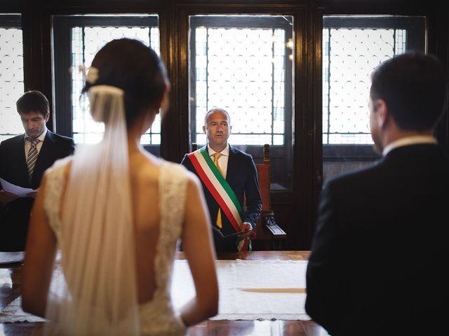 Il matrimonio di Ottaviano e Naoko a Udine, Udine 40