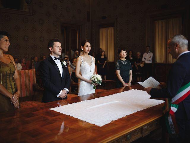 Il matrimonio di Ottaviano e Naoko a Udine, Udine 42