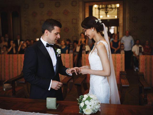 Il matrimonio di Ottaviano e Naoko a Udine, Udine 45
