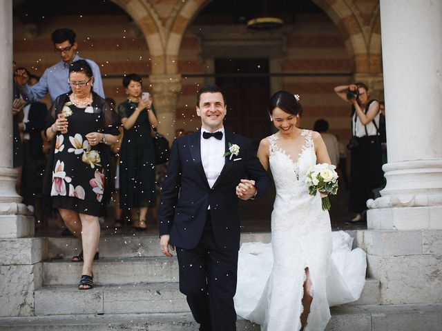 Il matrimonio di Ottaviano e Naoko a Udine, Udine 54