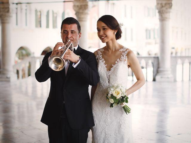 Il matrimonio di Ottaviano e Naoko a Udine, Udine 56