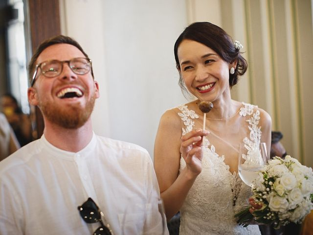 Il matrimonio di Ottaviano e Naoko a Udine, Udine 61