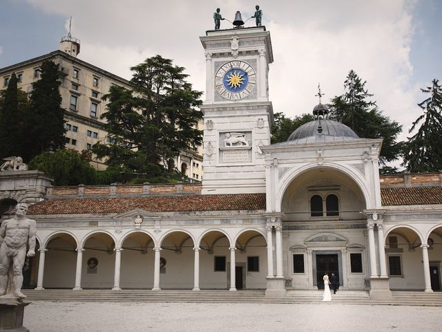 Il matrimonio di Ottaviano e Naoko a Udine, Udine 65