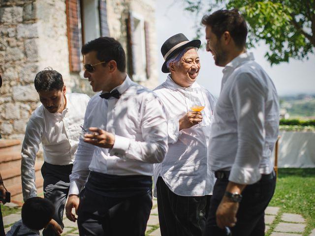 Il matrimonio di Ottaviano e Naoko a Udine, Udine 75