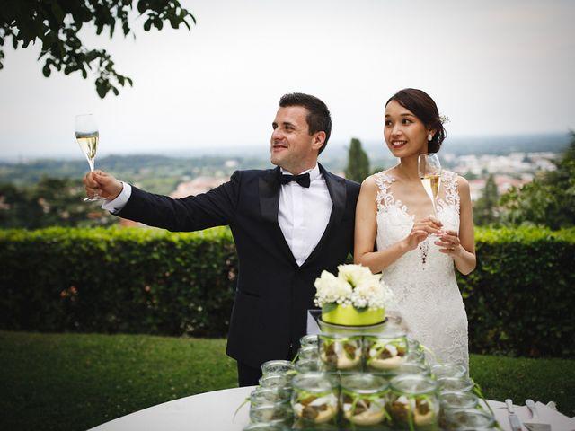Il matrimonio di Ottaviano e Naoko a Udine, Udine 101