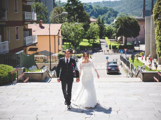 Il matrimonio di Matteo e Francesca a Alzano Lombardo, Bergamo 17