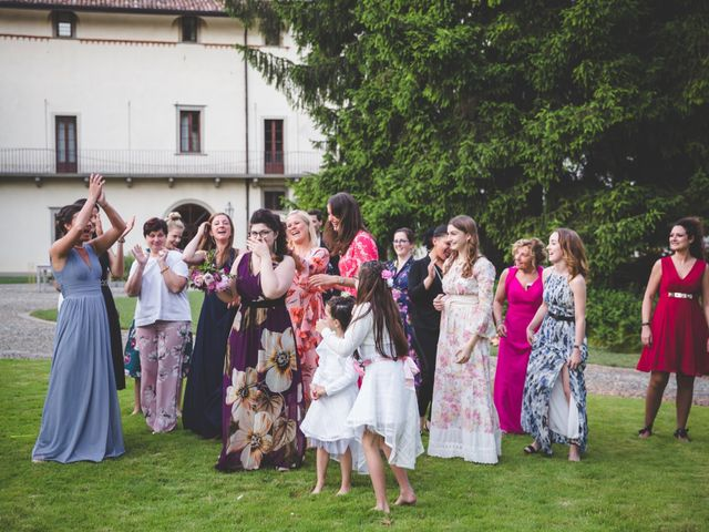 Il matrimonio di Matteo e Francesca a Alzano Lombardo, Bergamo 97