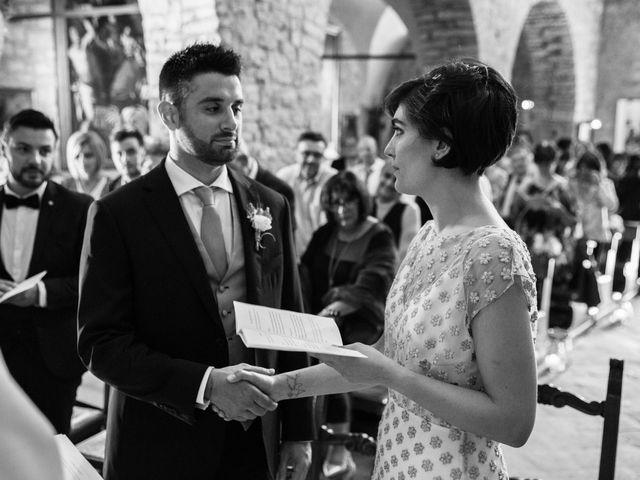 Il matrimonio di Diego e Francesca a Besenzone, Piacenza 34