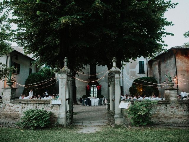 Il matrimonio di Diego e Francesca a Besenzone, Piacenza 61